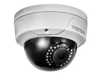 Camara IP 4Mp Domo Lente 4mm IP67 IR 30Mts PoE H.265 Slot mSD (Hasta 128Gb)