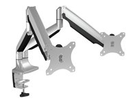 RaidSonic ICY BOX IB-MS504-T - Desk mount for 2 monitors (adjustable arm)
