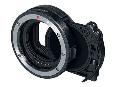Canon Drop-in Filter Mount Adapter - with Drop-in Variable ND Filter A - lens adapter