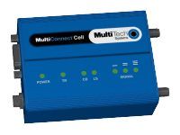 Multi-Tech MultiConnect Cell MTC-C2-B06-N2 Wireless cellular modem 3G RS-232 153.6 Kbps