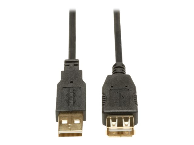 Tripp Lite 10ft USB 2.0 Hi-Speed Extension Cable Shielded A Male / Female 10'