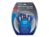Swann PRO Power/video cable BNC, DC jack (M) to BNC, DC jack 49 ft