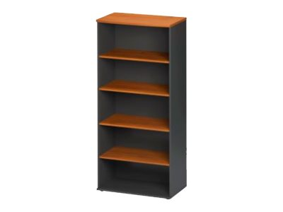 jazz biblioth que 4 etag res 80 cm finition aulne biblioth ques. Black Bedroom Furniture Sets. Home Design Ideas