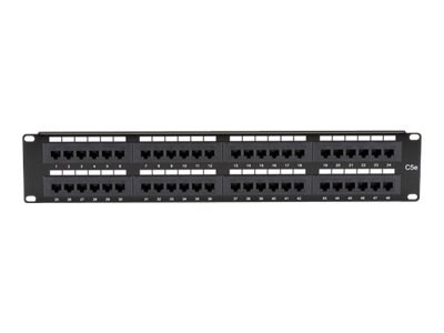 Black Box Economy patch panel - 2U - 19""