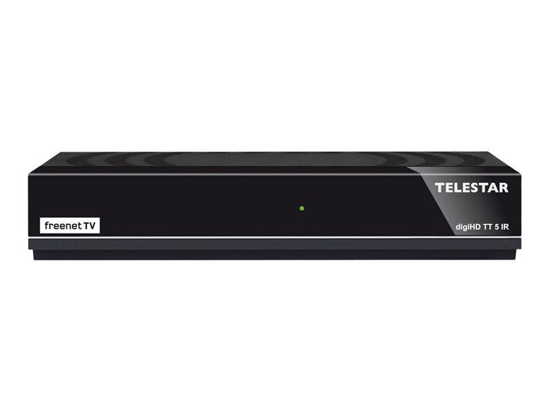 Telestar digiHD TT5 IR 5310483 schwarz Dvb-T2 HD Set-Top-Box