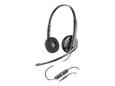 Plantronics Blackwire C225 - Headset - on-ear - wired - 3.5 mm jack