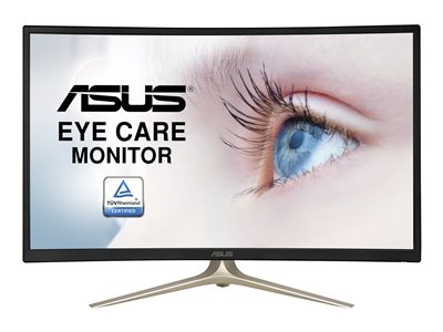 ASUS VA327H LED monitor curved 31.5INCH 1920 x 1080 Full HD (1080p) VA 250 cd/m²