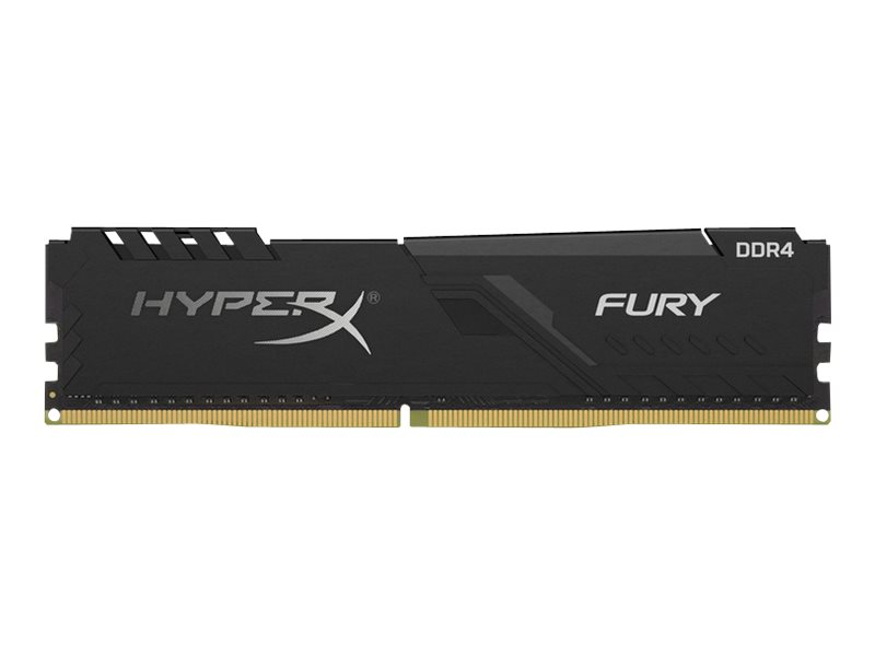HyperX FURY - DDR4 - kit - 32 GB: 2 x 16 GB - DIMM 288-pin - unbuffered