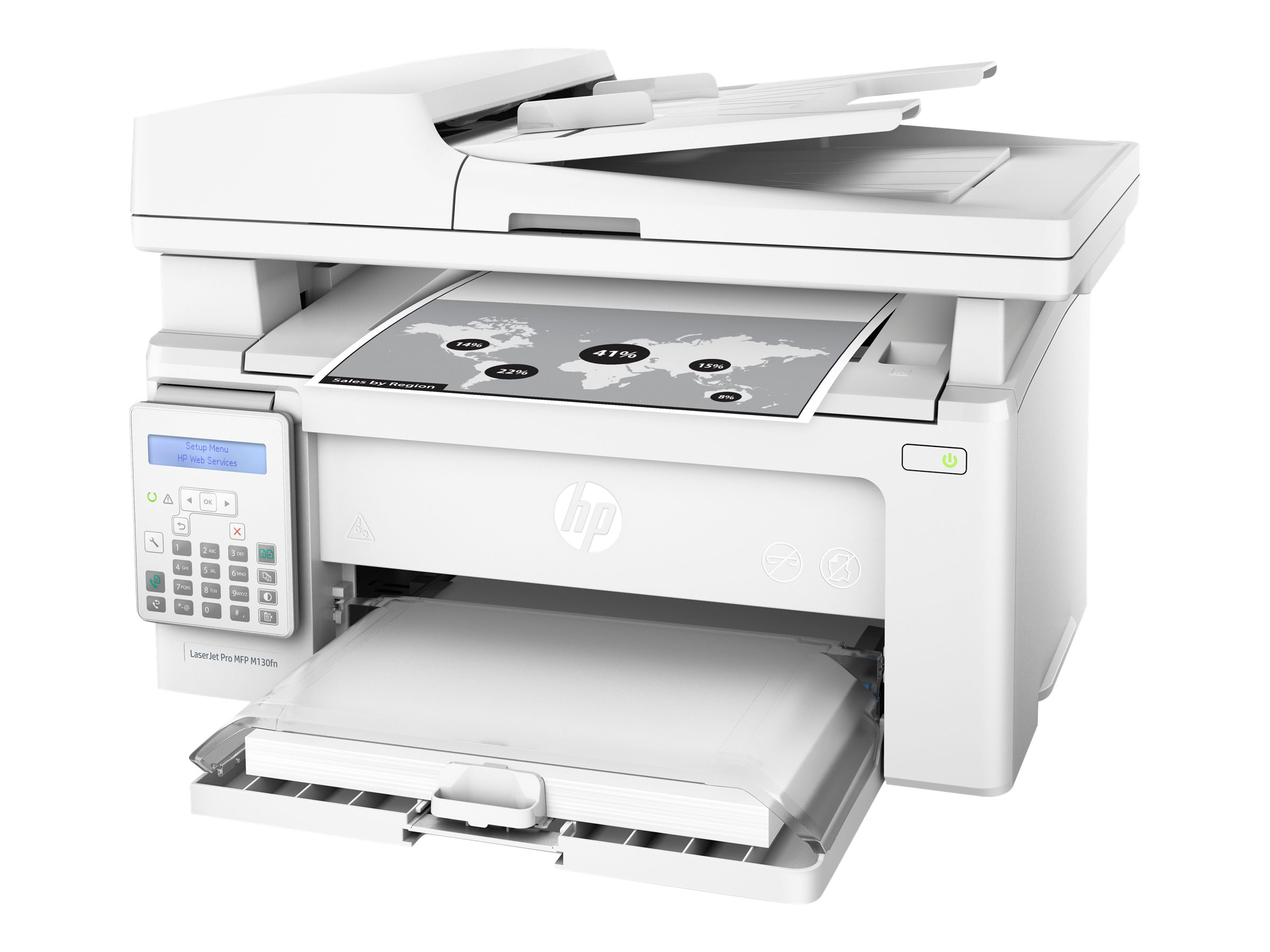 HP LaserJet Pro MFP M130fn - multifunction printer - B/W