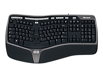 Microsoft Natural Ergonomic Keyboard 4000 for Business - Tastatur - USB - Deutsch