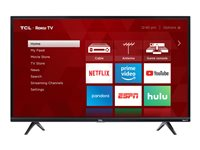 TCL 40S325 40INCH Diagonal Class (39.5INCH viewable) 3-Series LED TV Smart TV Roku TV