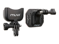 Veho Helmet front mount - Support system - adhesive mount - for muvi Atom, HD