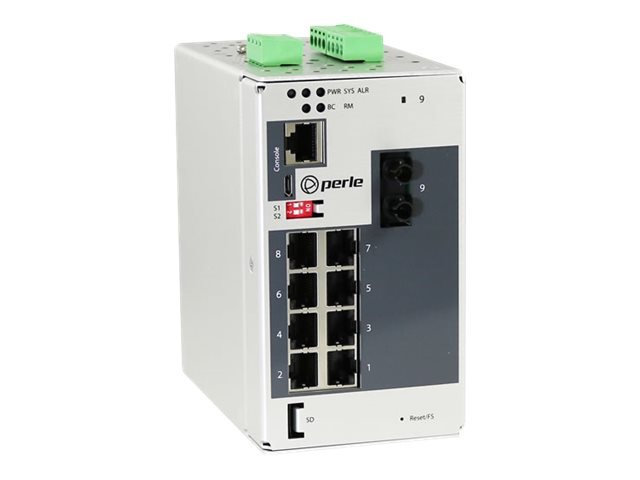 Perle IDS-409G-TMD05 - switch - 9 ports - managed