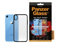 PanzerGlass ClearCase Black Edition back sort for Apple iPhone XR
