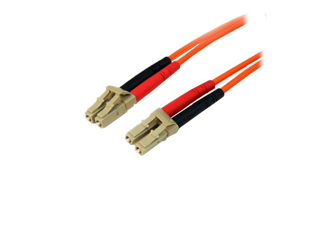 StarTech.com Cable patch a fibre optique duplex 50/125 multimode de 15 m LC - LC