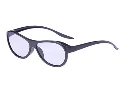 Inland 3D glasses for TV polarized black