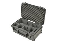 SKB 3I Series 2011-7 Hard case for 2 digital photo camera bodies with lenses