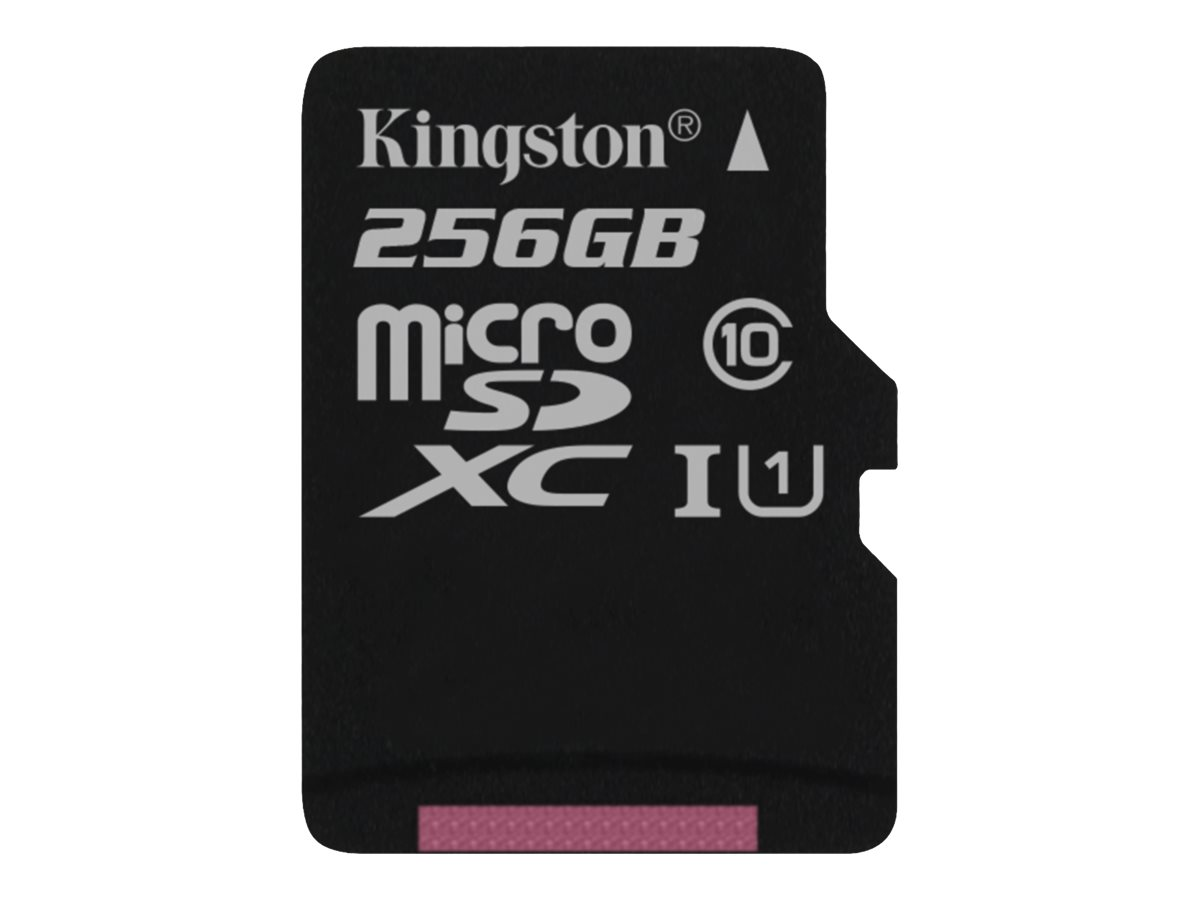 Kingston Canvas Select - Flash-Speicherkarte - 256 GB - UHS-I U1 / Class10 - microSDXC UHS-I