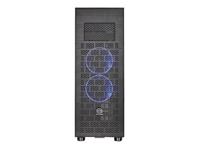 Full tower - ATX - no power supply ( PS/2 ) - black - USB/Audio