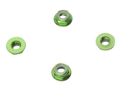 HYPERION - 6mm Flange Lock Nut Set (Low Profile)