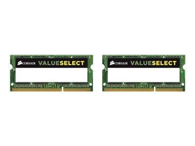 CORSAIR Value Select DDR3L  16GB kit 1600MHz CL11  Ikke-ECC SO-DIMM  204-PIN