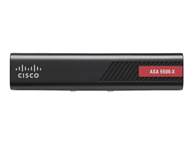 Cisco ASA 5506-X with FirePOWER Services - Security appliance - 8 ports - GigE - desktop