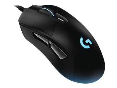 Logitech Gaming Mouse G403 Prodigy Optisk Kabling Sort