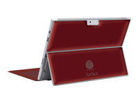 Tactus Lamina - Back cover for tablet - red - for Microsoft Surface Pro 3