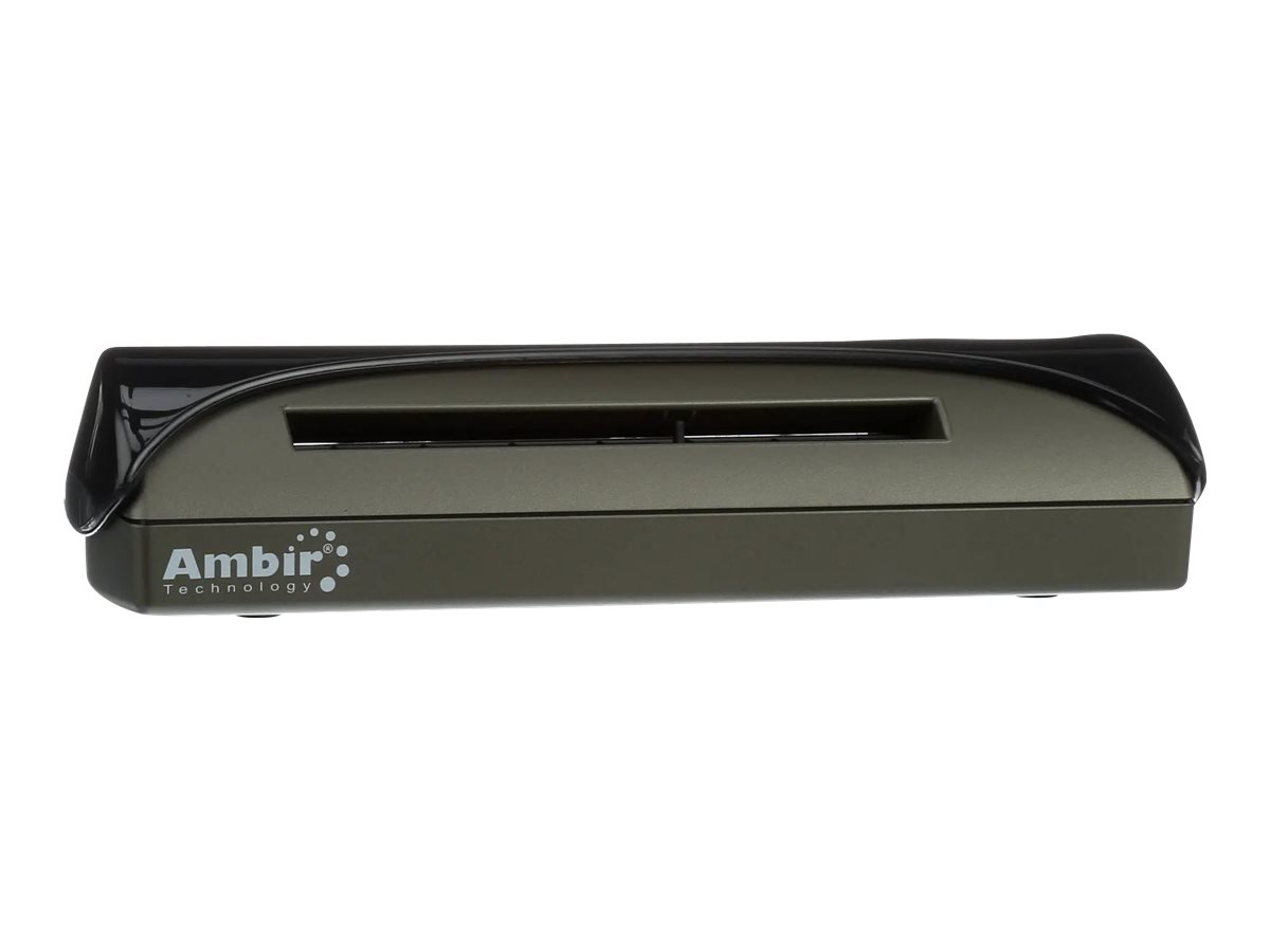 Ambir PS667 - card scanner - portable - USB 2.0 - with AmbirScan for athenahealth