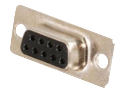 C2G DB9 D-Sub Solder Connector Data connector DB-9 (F) gold