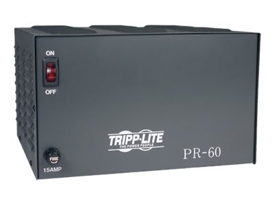 Tripp Lite DC Power Supply 60A 120VAC to 13.8VDC AC to DC Conversion TAA GSA power adapter
