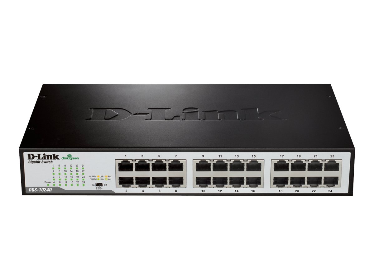 D-Link DGS 1024D - switch - 24 ports - unmanaged