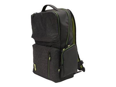 M-Edge Bolt Backpack with Battery Notebook carrying backpack 17INCH heather gray