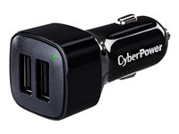 CyberPower TR22U3A Car power adapter 3.1 A 2 output connectors (USB) black