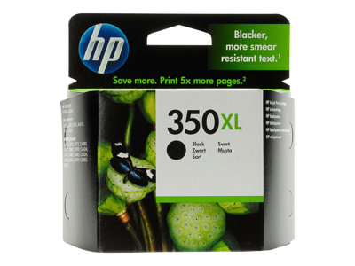 HP 350XL Sort