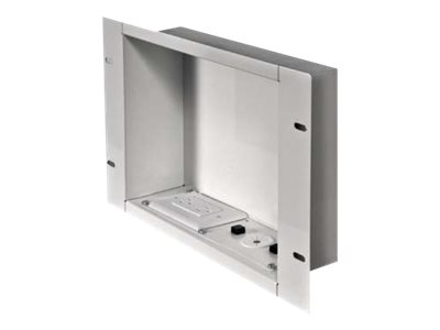 Peerless Recessed Cable and Storage Management Box IBA2AC - cable distribution box