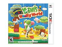 Poochy & YoshiFEETs Woolly World Nintendo 3DS