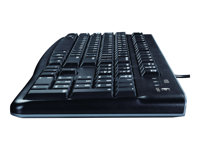 Logitech K120 Keyboard USB English black