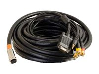 C2G RapidRun Multi-Format All-In-One Runner Cable Video / audio cable
