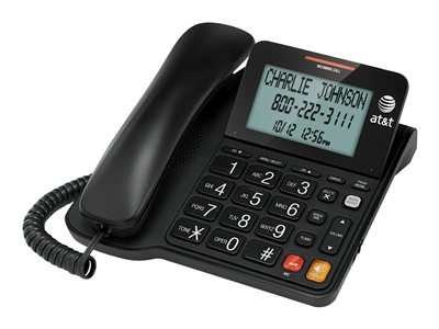 AT&T CL2940 Corded phone with caller ID/call waiting black