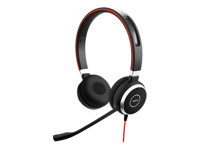 Jabra Evolve 40 MS stereo - Headset - on-ear