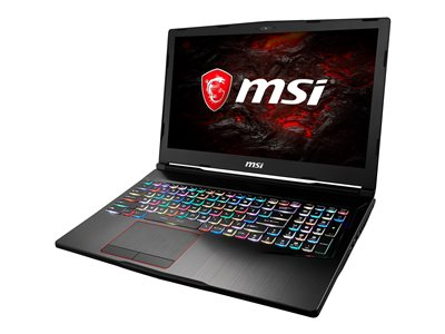 MSI GE63 Raider RGB-010 Core i7 8750H / 2.2 GHz Windows 10 Home 16 GB RAM