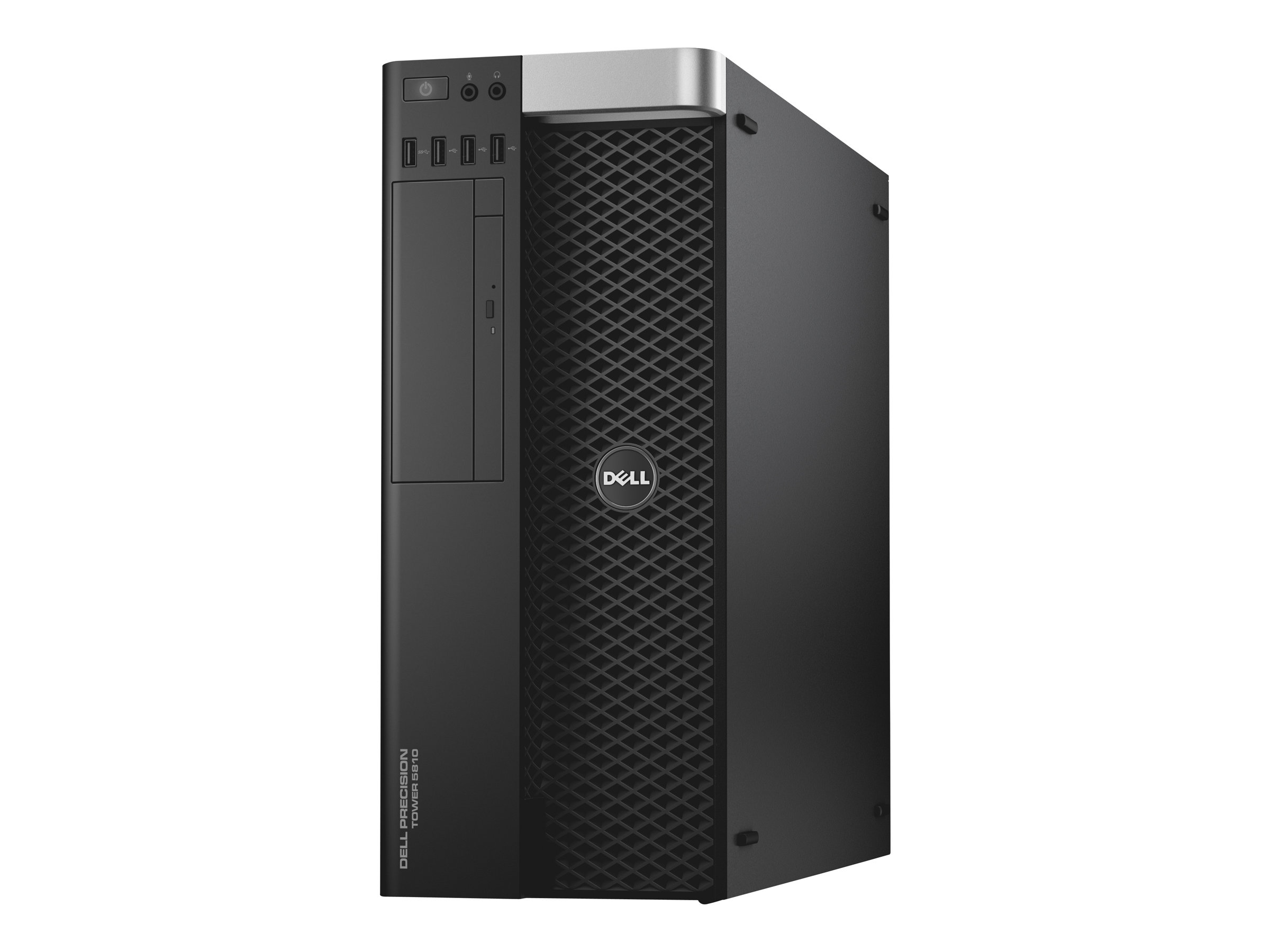 Dell Precision Tower 5810 - MDT - 1 x Xeon E5-1650V3 / 3.5 GHz - RAM 16 GB - SSD 512 GB - DVD-Writer