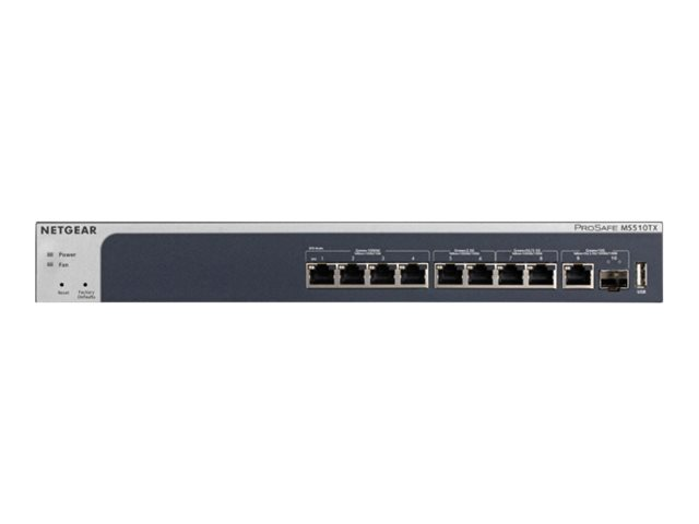 NETGEAR MS510TX - commutateur - 8 ports - intelligent - Montable sur rack