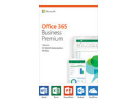 Picture of Microsoft Office 365 Business Premium - box pack (1 year) - 1 person (KLQ-00388)