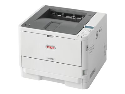 OKI B512dn Printer B/W Duplex LED A4/Legal 1200 x 1200 dpi up to 47 ppm