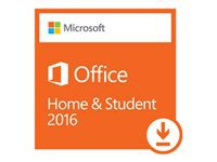 Microsoft Office Home and Student 2016 - Licence - 1 PC - non-commercial - Download - ESD - Click-to-Run - Win - All Languages