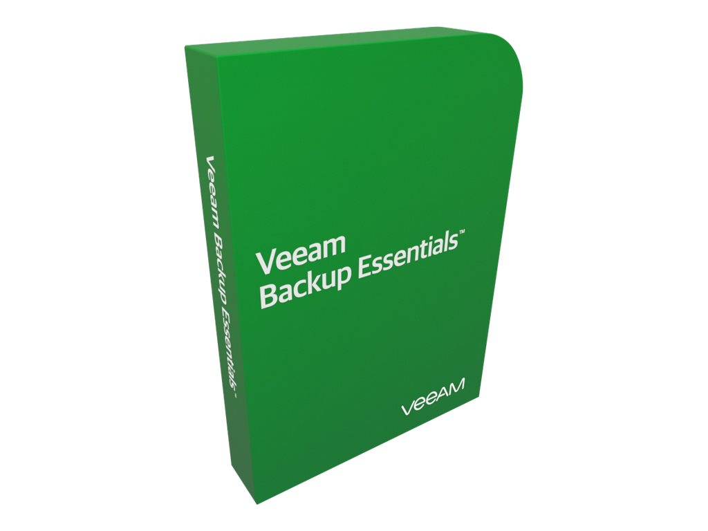 Veeam Essentials Enterprise Plus bundle for VMware - license + 1 Year Maintenance & Support - 2 sockets
