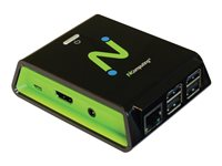 NComputing RX-series RX-HDX Thin client USFF 1 x Cortex-A53 1.2 GHz RAM 1 GB flash 8 GB