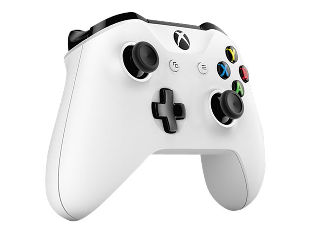 Microsoft Xbox Wireless Controller - Game Pad - drahtlos - Bluetooth - weiß - für PC, Microsoft Xbox One, Microsoft Xbox One S
